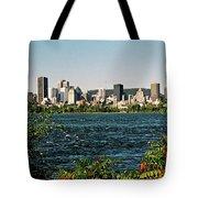 Montreal - Sur Le Fleuve  Tote Bag