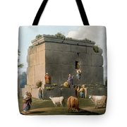 Monument Between Tripoli And Tortosa Tote Bag