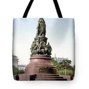 Monument Catherine II Tote Bag