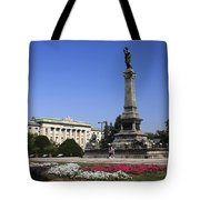 Monument Of Freedom Tote Bag