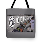 Monument Park -  Yankee Stadium Tote Bag