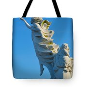 Monument To The Immigrants Statue 1 Tote Bag