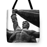 Monument To The People 0131 - Textured Pencil Tote Bag