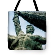 Monument To The People 0131 - Watercolor 1 Tote Bag