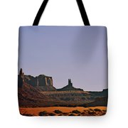 Monument Valley - An Iconic Landmark Tote Bag by Christine Till