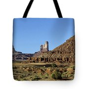 Monument Valley Arizona State Usa Tote Bag