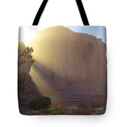 Monument Valley At Sunset 2 Tote Bag