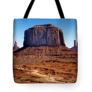 Monument Valley Mitten Tote Bag