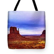 Monument Valley Navajo National Tribal Park Tote Bag