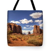 Monument Valley - North Window Overlook  Tote Bag