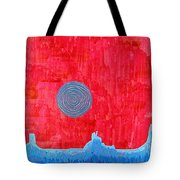 Monument Valley Original Painting Tote Bag