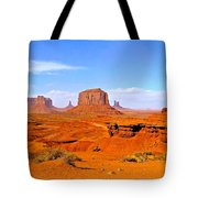 Monument Valley - Panorama Tote Bag