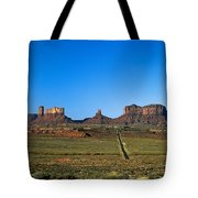 Monument Valley Road Tote Bag