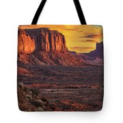 Monument Valley Sunrise Tote Bag