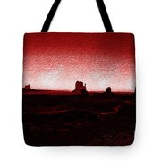 Monument Valley -utah V5 Tote Bag