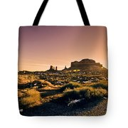 Monument Valley -utah V7 Tote Bag