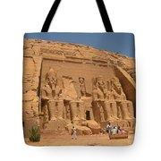 Monumental Abu Simbel Tote Bag