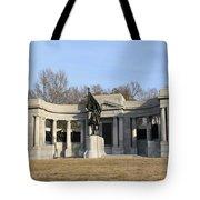 Monutent At Vicksburg National Military Park Tote Bag