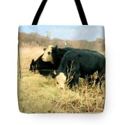 Moo Cow Munch Tote Bag