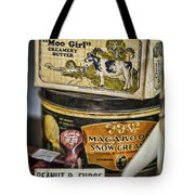 Moo Girl Tote Bag