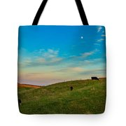 Moo Moon Tote Bag