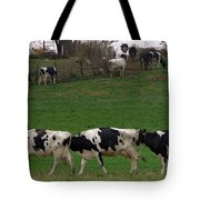 Moo Train Tote Bag