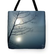 Moody Blue Tote Bag