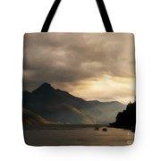 Moody Lake Tote Bag