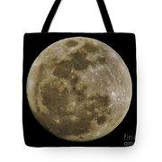 Moody Moon Tote Bag