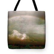 Moody Rainbow Panorama Tote Bag