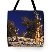 Moon And Bristlecone Pines Tote Bag