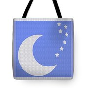 Moon And Stars With Crystal Stone Healing Energy Plates By Side Navinjoshi Rights Managed Images For Tote Bag