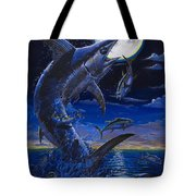 Moon Doggie Off00124 Tote Bag