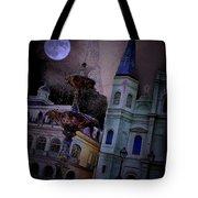 Moon Drops Tote Bag