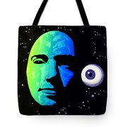 Moon Eye Bi Color Tote Bag