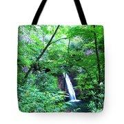Moon Falls Tote Bag