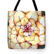 Moon Flower Out Of The Bloomers And Onto The Bloom Tote Bag