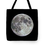 Moon Hdr Tote Bag