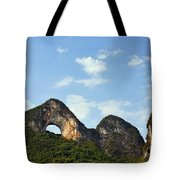Moon Hill, Yangshuo, China Tote Bag