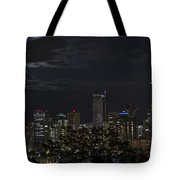 Moon In Hiding Tote Bag by Windy Corduroy