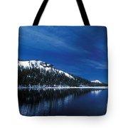 Moon - Lake Tote Bag
