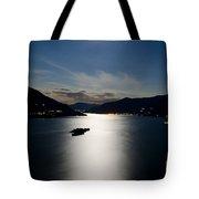 Moon Light And Island Tote Bag