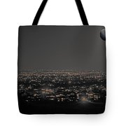 Moon Over Fort Collins Tote Bag
