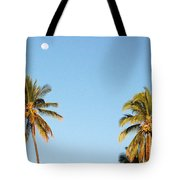 Moon Over Molokai Tote Bag
