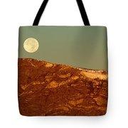 Moon Over Mount Ida Tote Bag