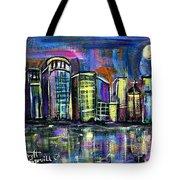 Moon Over Orlando Tote Bag