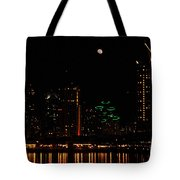 Moon Over San Diego Tote Bag