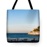 Moon Over The Bay Tote Bag