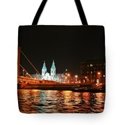 Moon Over The Danube Tote Bag
