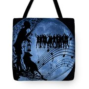 Moon Party Tote Bag